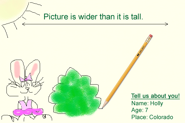 Holly's drawing example